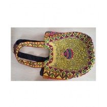 SubKuch Embroidery Hand Bag For Women Multicolor