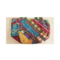 SubKuch Embroidery Hand Bag For Women Multicolor (Bsp22, P51)