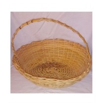 SubKuch Hand Made Large Wooden Basket Pack Of 3 (Bdp,Pdp)