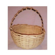 SubKuch Hand Made Small Wooden Basket Pack Of 3 (Bdp,Pdp)