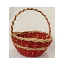 SubKuch Hand Made Wooden Basket Small (Bdp,Pdp)