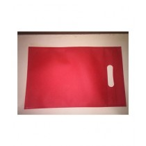 SubKuch Pack of 5 Thick Gift Bags - Red Color