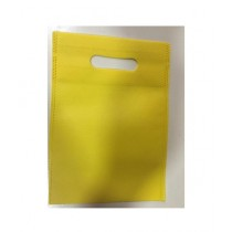SubKuch (Pack of 5) Thick Gift Bags - Yellow Color