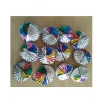 SubKuch Rosette Pinwheels Pack Of 10 (B 15, P 800)