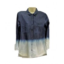 SubKuch Tie and Dye Shirt For Women (B 619, P 145)