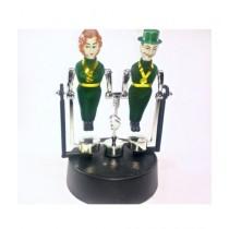 SubKuch Toy Balance Acrobates Physics Science Pendulum (B610, PB)