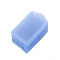 SubKuch Transparent ID Card Cover Pack Of 15