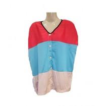 SubKuch Urban Silk Tie Dye Shirt For Women (B619-P58)
