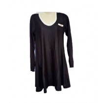 SubKuch Wool Top Shirt For Women Black (B 619, P 149)
