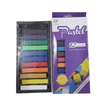 Super School Store Soft Chalk Pastel 12 Color (A14322)