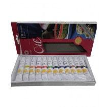Super School Store Oil Color Pack of 12 (A14501)