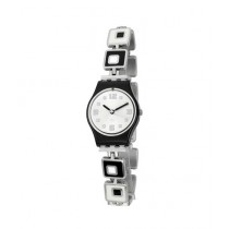 Swatch Chessboard Women's Watch Two-Tone (LB160G)
