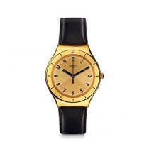 Swatch Coraggiosa Women's Watch Black (YGG105)