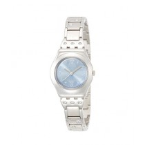Swatch Flower Box Women's Watch Silver (YSS222G)
