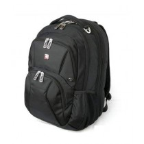 "Swisswin 15"" Laptop Backpack - Black (SW1908)"