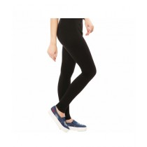 T Brand Pk Stretchable Tights For Women Black