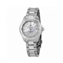 TAG Heuer Aquaracer Women's Watch Silver (WBD1311.BA0740)