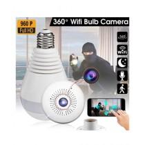 Tech Expert 1080p 360 Degree Fish Eye Wireless LED Bulb Camera