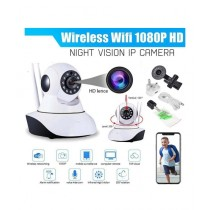 Tech Expert 360 Wireless IP Camera with 2 Antenna White