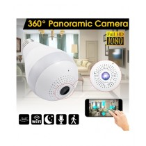 Tech Expert 360 Wireless IP Panoramic Bulb Camera