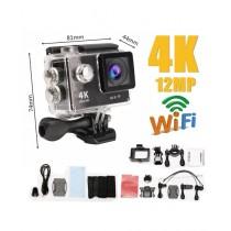 Tech Expert 4K Ultra-HD Sports Action Camera Black