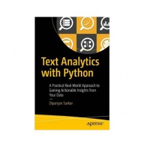 Text Analytics with Python Book 1st Edition