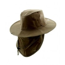 The Sam's Outdoor Summer Safari Hat With Neck Flap