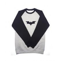 The Urban Hill Batman Raglan Sweat Shirt