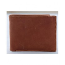 The Fashion Leather Crazy Horse Wallet For Men Brown (W005)