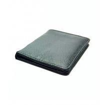 The Fashion Leather Card Cover Wallet For Men Grey (W008)