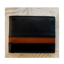 The Fashion Leather Wallet For Men Black (W012)