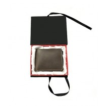 The Fashion Leather Wallet For Men Grey (W016)