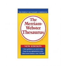 The Merriam-Webster Thesaurus Book 1st Edition