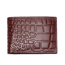 The Smart Shop Crocodile Design Leather Wallet For Men (0258)