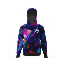 The Warehouse Abstract All Over Printed Hoodie For Men (AO-HOOD-193)