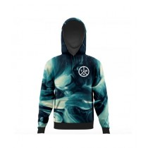 The Warehouse Abstract All Over Printed Hoodie For Men (AO-HOOD-194)
