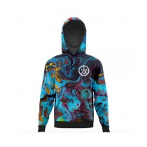The Warehouse Abstract All Over Printed Hoodie For Men (AO-HOOD-196)