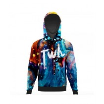 The Warehouse Abstract All Over Printed Hoodie For Men (AO-HOOD-197)
