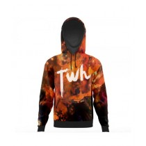 The Warehouse Abstract All Over Printed Hoodie For Men (AO-HOOD-199)