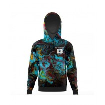 The Warehouse Abstract All Over Printed Hoodie For Men (AO-HOOD-200)