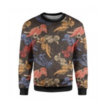 The Warehouse Birds Printed Sweatshirt For Unisex (SS-04)
