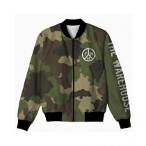 The Warehouse Camouflage All Over Printed Jacket For Men (AO-JACKET-227)