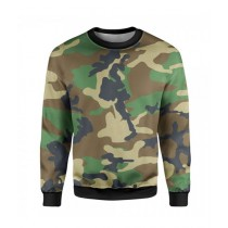 The Warehouse Camouflage Printed Sweatshirt For Unisex (SS-10)