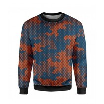 The Warehouse Dots Camouflage Printed Sweatshirt For Unisex (SS-11)