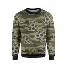The Warehouse Floral Camouflage Printed Sweatshirt For Unisex (SS-14)