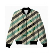 The Warehouse Stripes All Over Printed Jacket For Unisex (AO-JACKET-230)