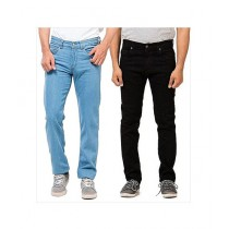 TJ Brothers Stretch Luxury Men's Jeans Pack of 2 (MJEANS-104)