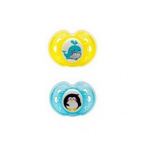 Tommee Tippee Air Soother 0-6M Yellow & Blue (TT 433376)