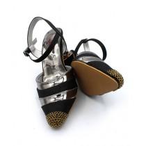 Toyo Shoes Heels For Women Black (65)