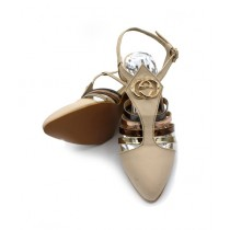 Toyo Shoes Heels For Women Fawn (1031)